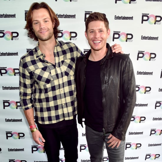 Jensen Ackles and Jared Padalecki at PopFest 2016