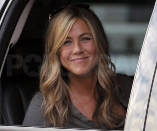Slide Photo of Jennifer Aniston in NYC