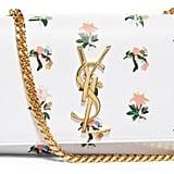 Saint Laurent Monogram small floral-print shoulder bag ($1,790)
