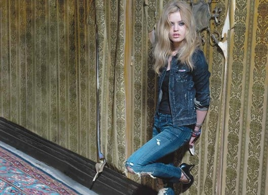 Fab Ad: Georgia May Jagger for Hudson Jeans