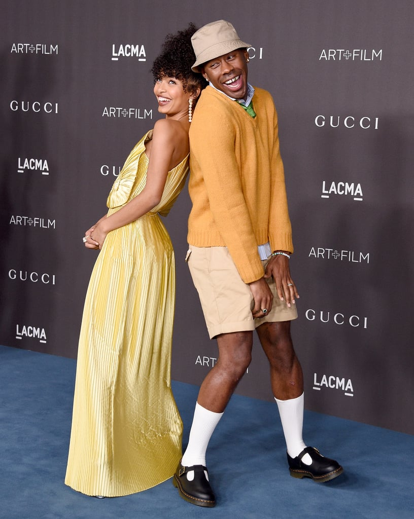 Yara Shahidi and Tyler, the Creator at the 2019 LACMA Art+Film Gala
