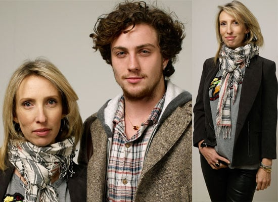 Engaged Couple Sam Taylor-Wood and Aaron Johnson Buy New House in London Photos of Pregnant Sam and Aaron at Sundance