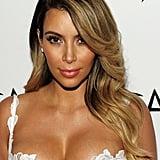 Kim Kardashian's Honey Hair Colour in 2013