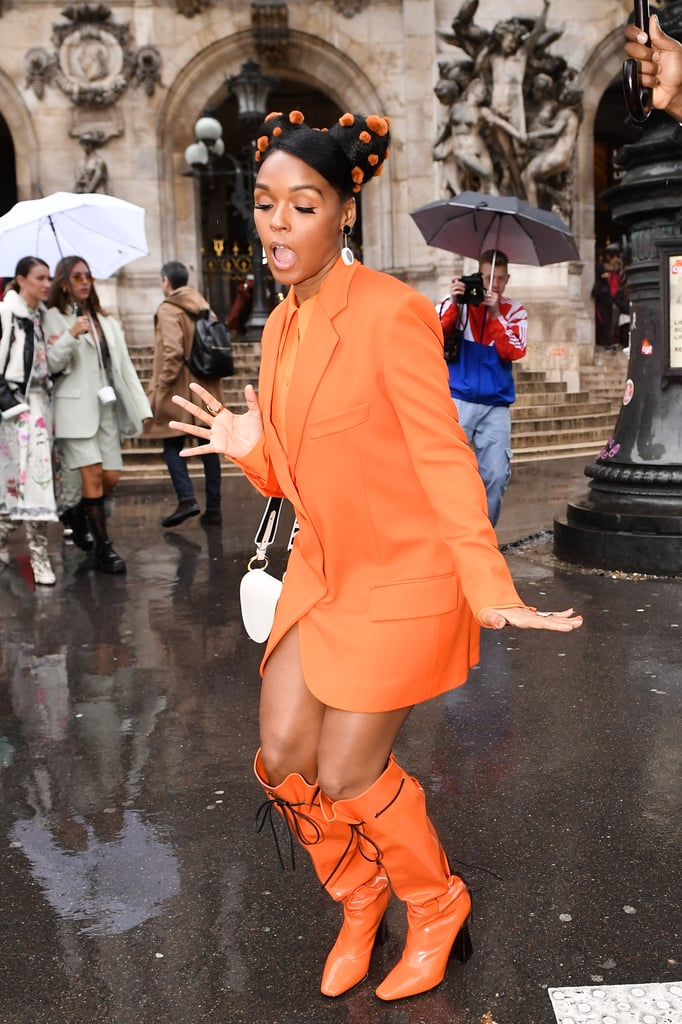 Janelle Monáe at the Stella McCartney Fall 2020 Show