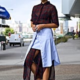 Sheer and Layered With Trainers