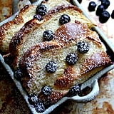 Overnight Baked Blueberry French Toast