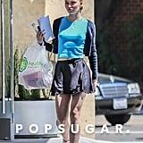 Lily-Rose Depp Wearing Brandy Melville