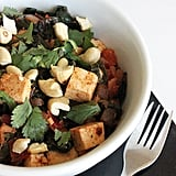 Monday: Indian-Spiced Chard With Tofu