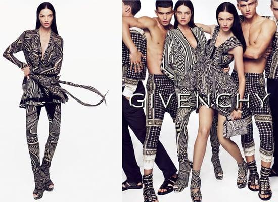 Givenchy Ad Spring 2010 Starring Natalia Vodianova and Mariacarla Boscono