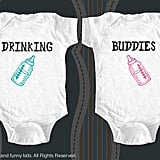 """Drinking Buddies"" Onesie Set"
