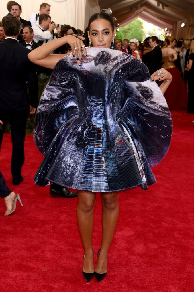 Solange Knowles Met Gala Dress May 2015