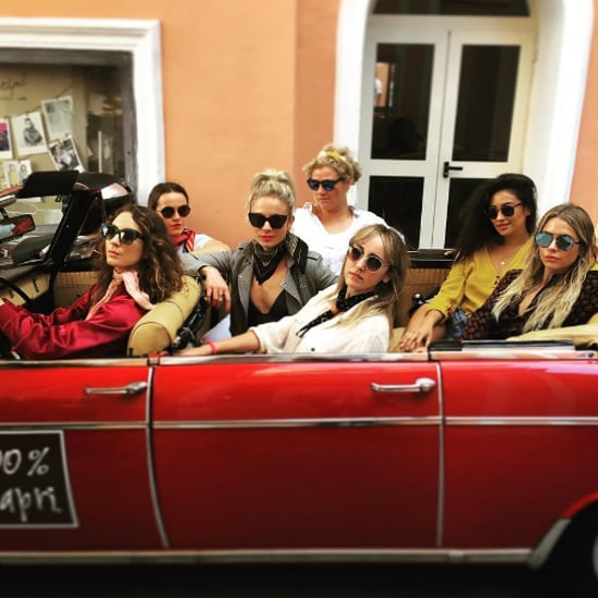 Troian Bellisario's Bachelorette Party Style Pictures