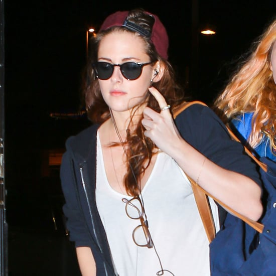 Kristen Stewart Leaves LAX Ahead of New Year's | Pictures