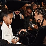 Blue Ivy Tries to Out-Accessorise Beyoncé With Her £1,879 Heart-Shaped Clutch