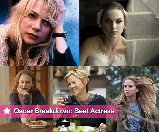 2011 Best Actress Oscar Nominee Breakdowns and Chances of Winning