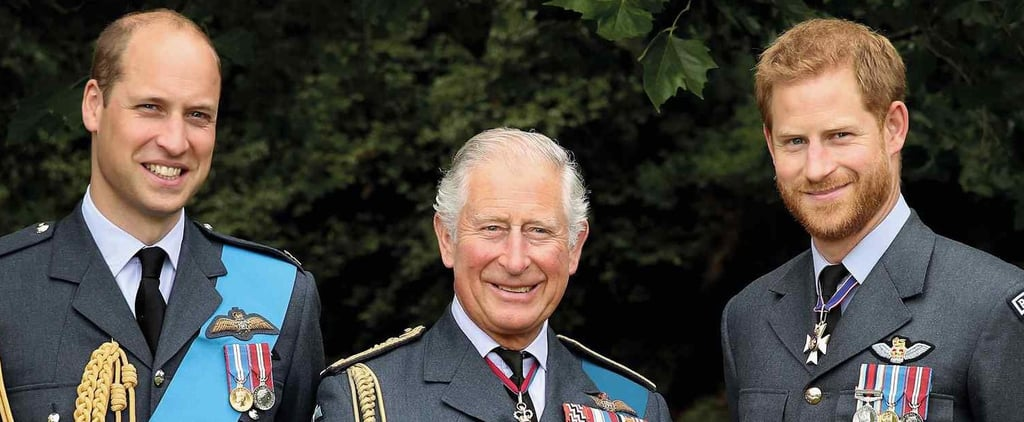 Prince Charles Royal Mail Stamps For His 70th Birthday
