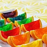 Rainbow Jello Wedges