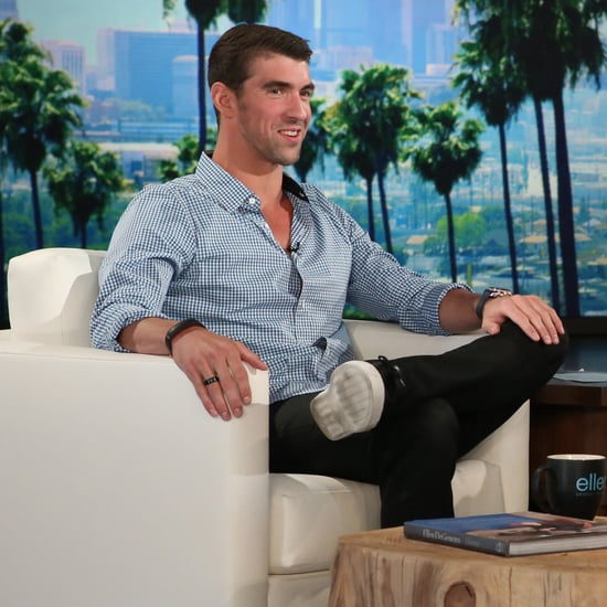 Michael Phelps on The Ellen DeGeneres Show September 2016