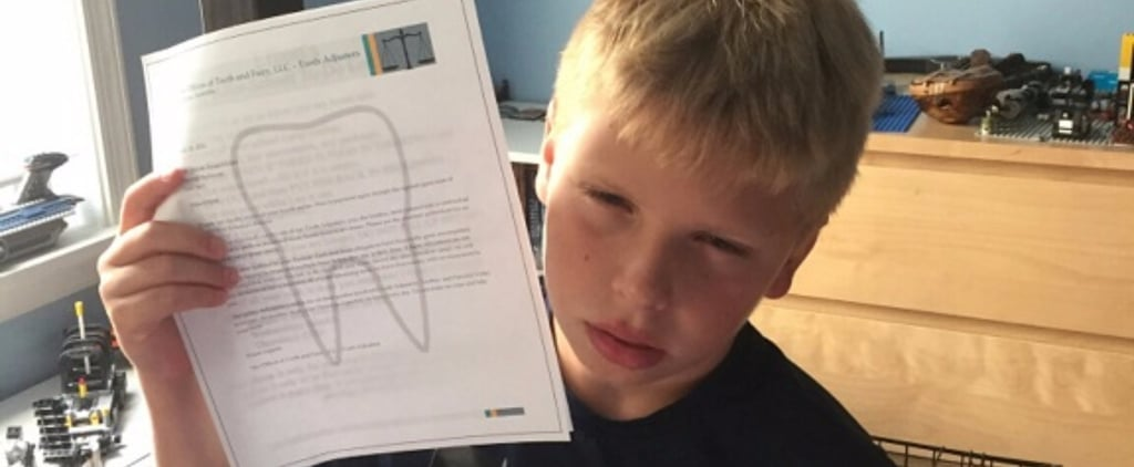 Parents Send Son a Letter From the Tooth Fairy to Do Chores
