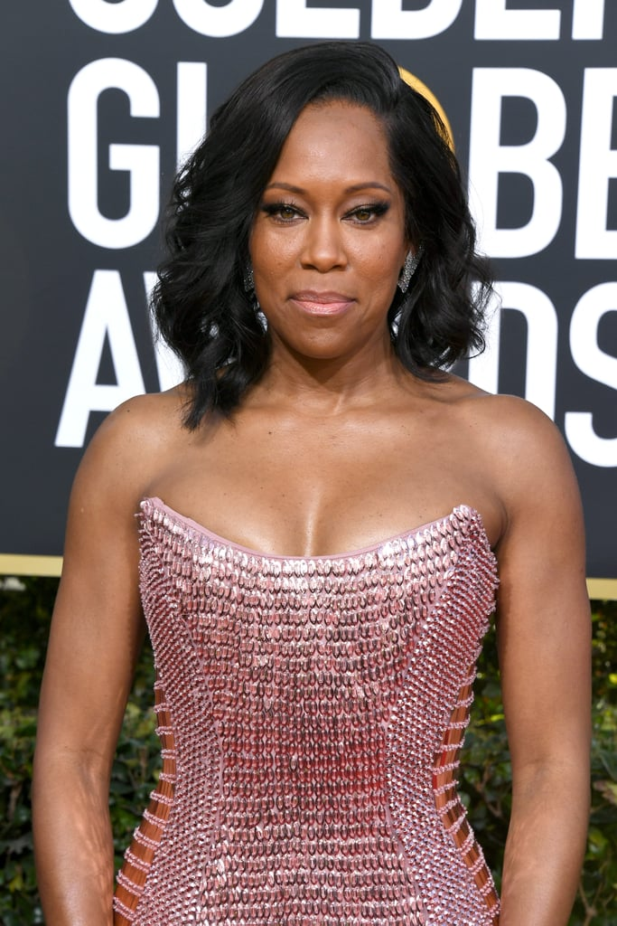 Regina King and Her Son at the 2019 Golden Globes