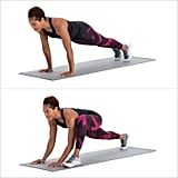 Plank to Runner's Lunge