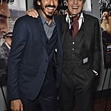 With Jeremy Irons.