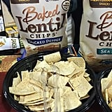 Mediterranean Snacks Cracked Pepper Baked Lentil Chips