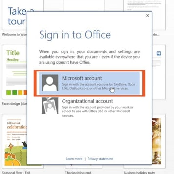 New Microsoft Office