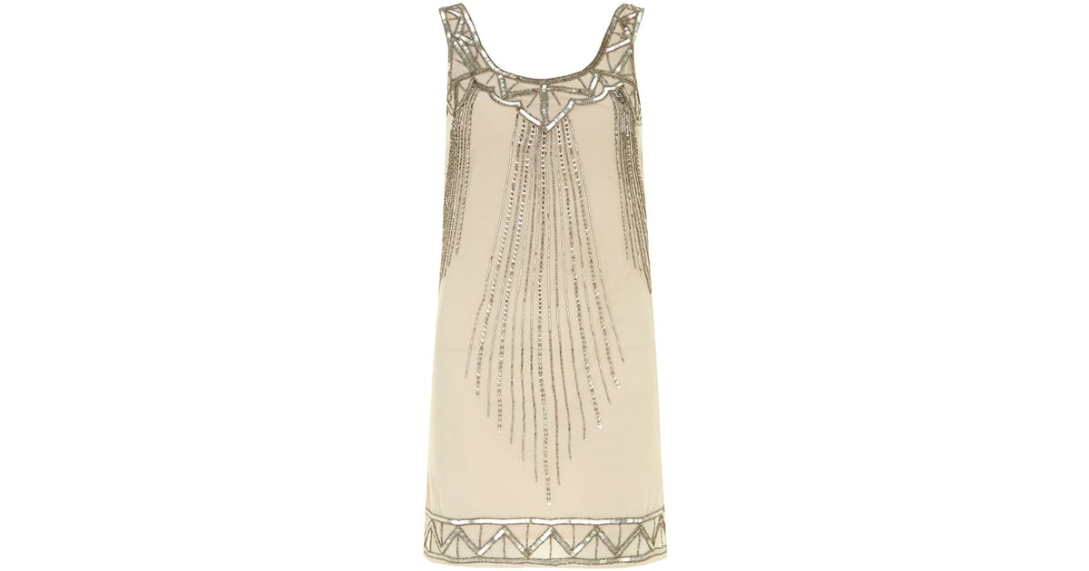 7746d28963e Maya mocha sequin flapper dress (£55) | The Best Sequin Party ...