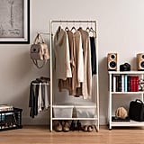 Iris USA Metal Garment and Accessories Rack