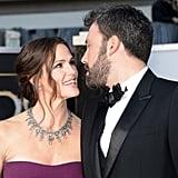 Ben Affleck and Jennifer Garner shared a look of love at the Oscars.
