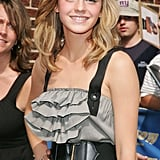 During a visit to the Late Show With David Letterman in 2007, Emma looked all grown up with a voluminous blowout.
