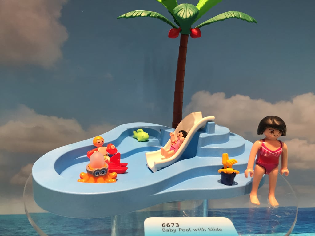 Playmobil Baby Pool With Slide New Toys From Toy Fair
