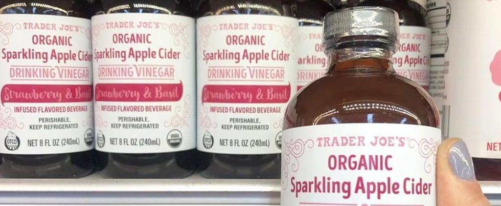 Trader Joe's Sparkling Apple Cider Drinking Vinegar