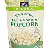Organic Reduced Fat & Sodium Popcorn