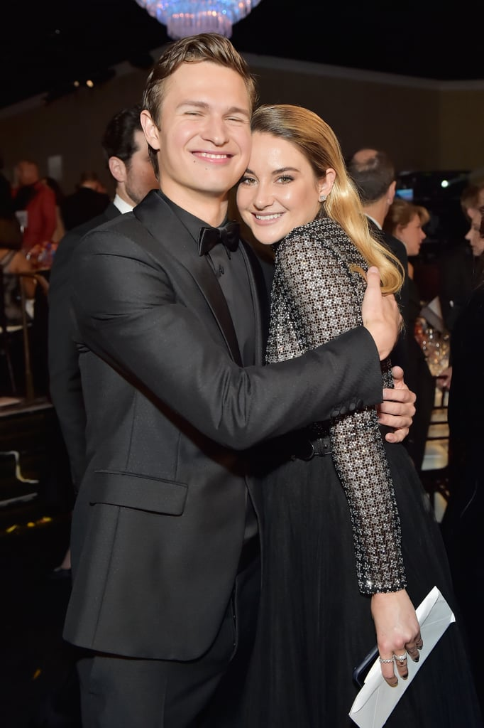 Pictured: Ansel Elgort and Shailene Woodley