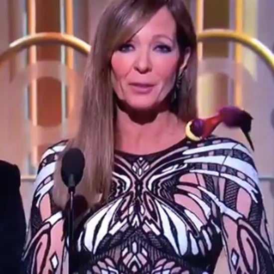 Why Did Allison Janney Have a Bird on Her Shoulder?