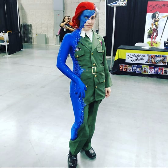 Mystique Cosplay at New York Comic-Con 2016