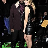 LeAnn Rimes and Will.i.am hung out at his concert benefit.