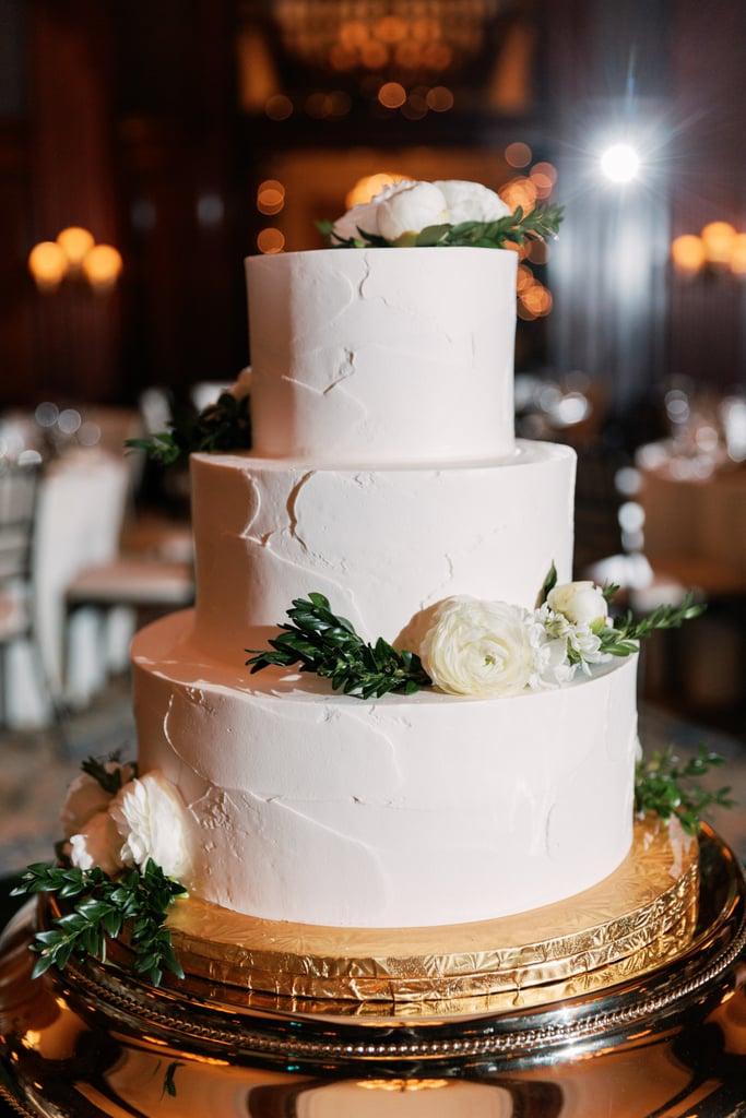 Gold Cake Display