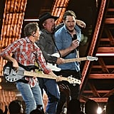 Garth Brooks and Chris Pratt iHeartRadio Awards 2019 Video
