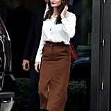 Angelina Jolie Work Outfit Ideas