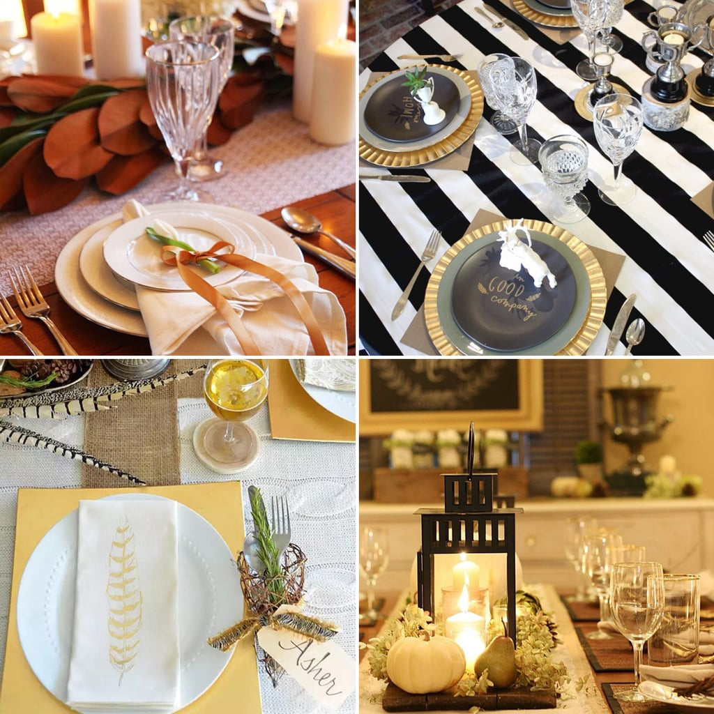 Thanksgiving Table Setting Ideas From Instagram  sc 1 st  Popsugar & Thanksgiving Table Setting Ideas From Instagram | POPSUGAR Home