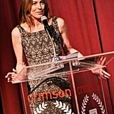 Kathryn Bigelow talked at the NY Film Critics Circle Awards.