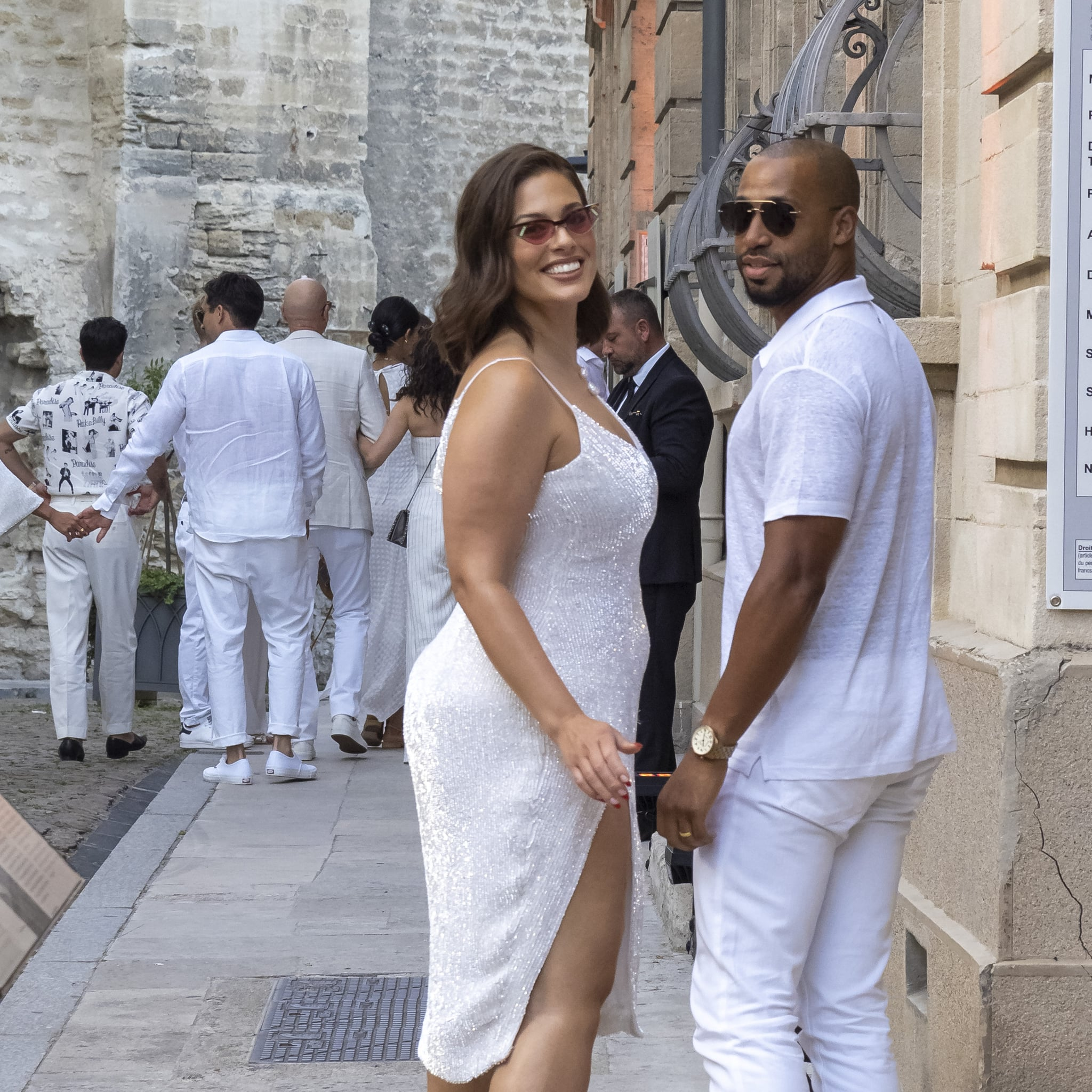 Ashley Graham Wedding.Joe Jonas And Sophie Turner Wedding Guests Style Popsugar