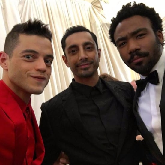 Rami Malek, Riz Ahmed, and Donald Glover at 2017 Met Gala