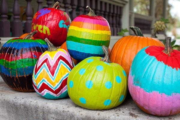 Diy Painted Pumpkins No Carve Pumpkin Ideas For Kids