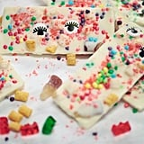 White Chocolate Bars With Pop Rocks, Gummy Bears, and Cap'n Crunch