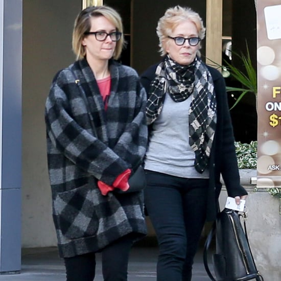 Sarah Paulson and Holland Taylor Out in LA December 2015