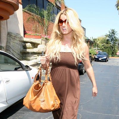 Jessica Simpson Tans and Flies